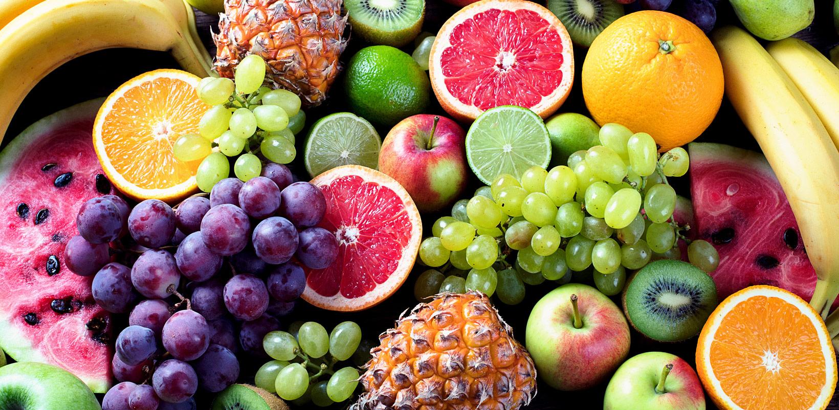 Frisches Obst - gesunde Ernährung